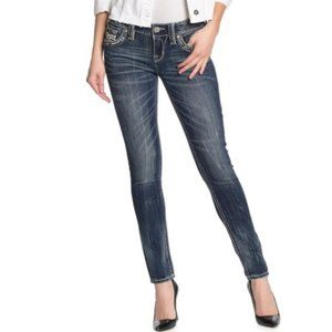 Rock Revival Gavyn Mid Rise Skinny Jeans.NWT!